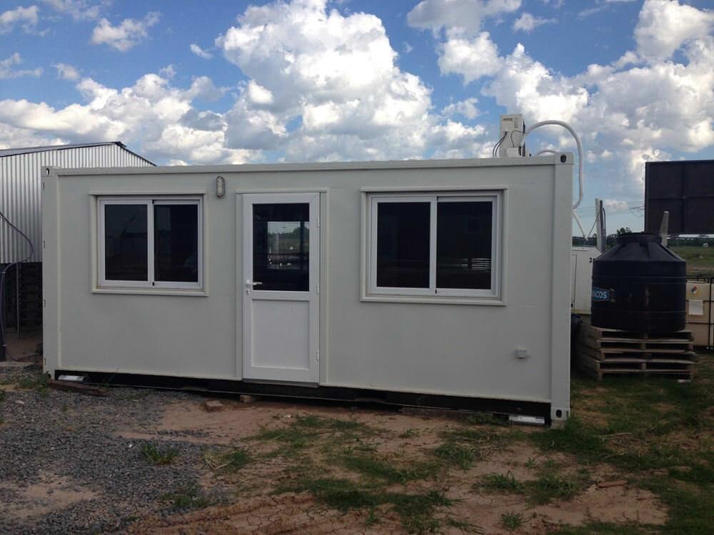 Alquiler de m dulos habitables containers oficina for Aire acondicionado oficina